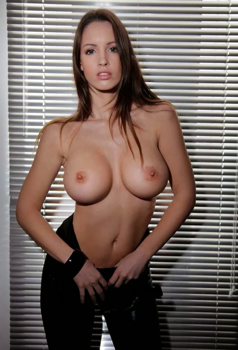 Lucia Javorcekova topless boobs
