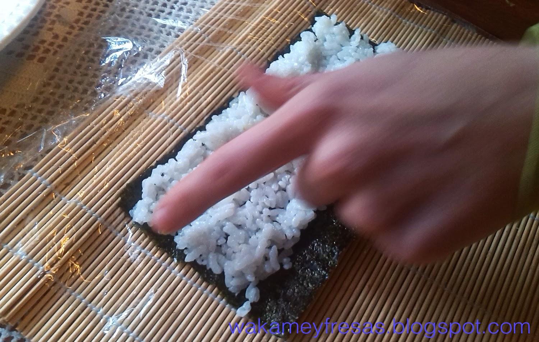 ponemos el wasabi