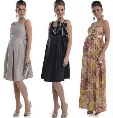 vestido de festa para gravida