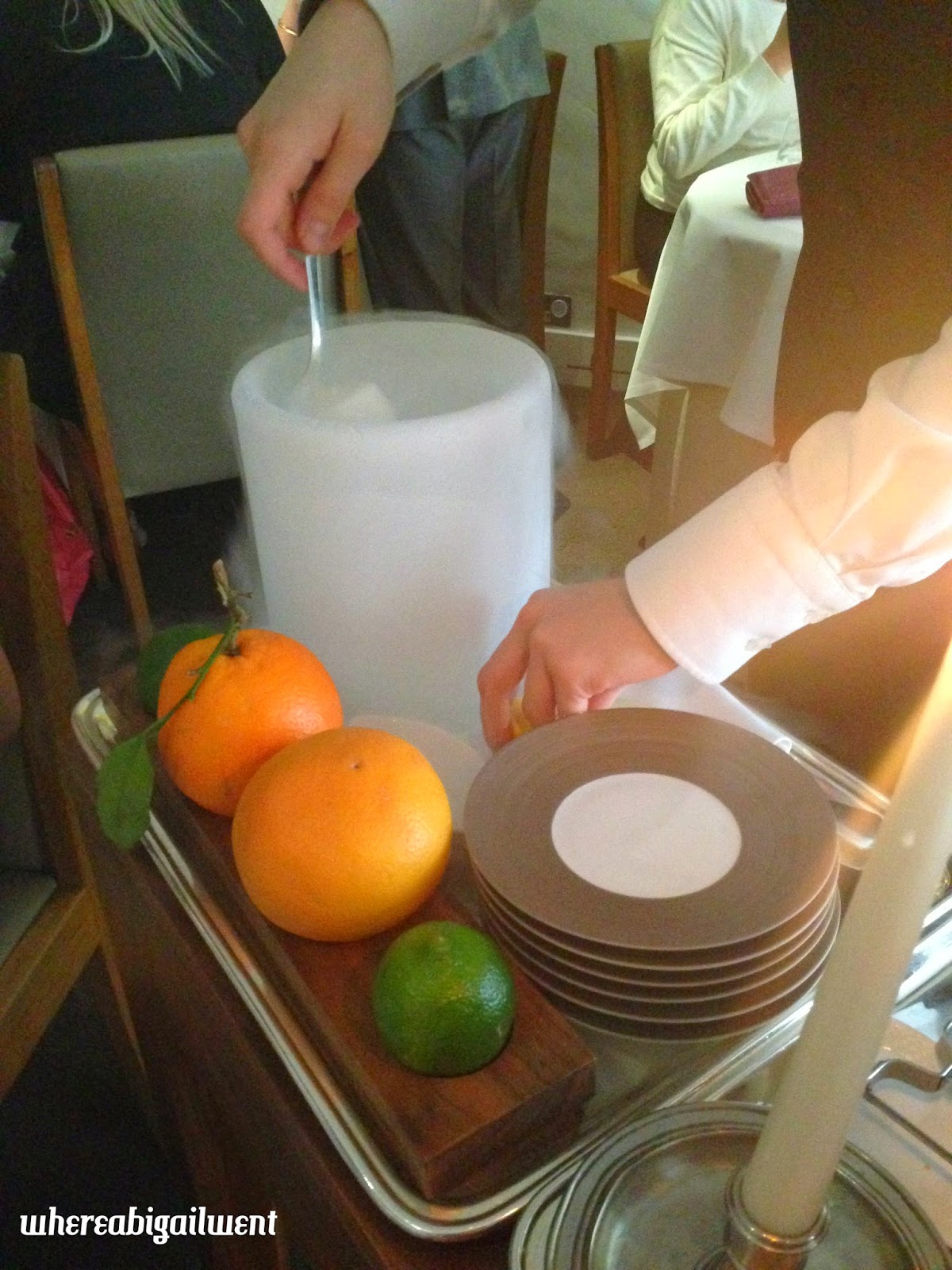 Nitro Aperitif Trolley at Work