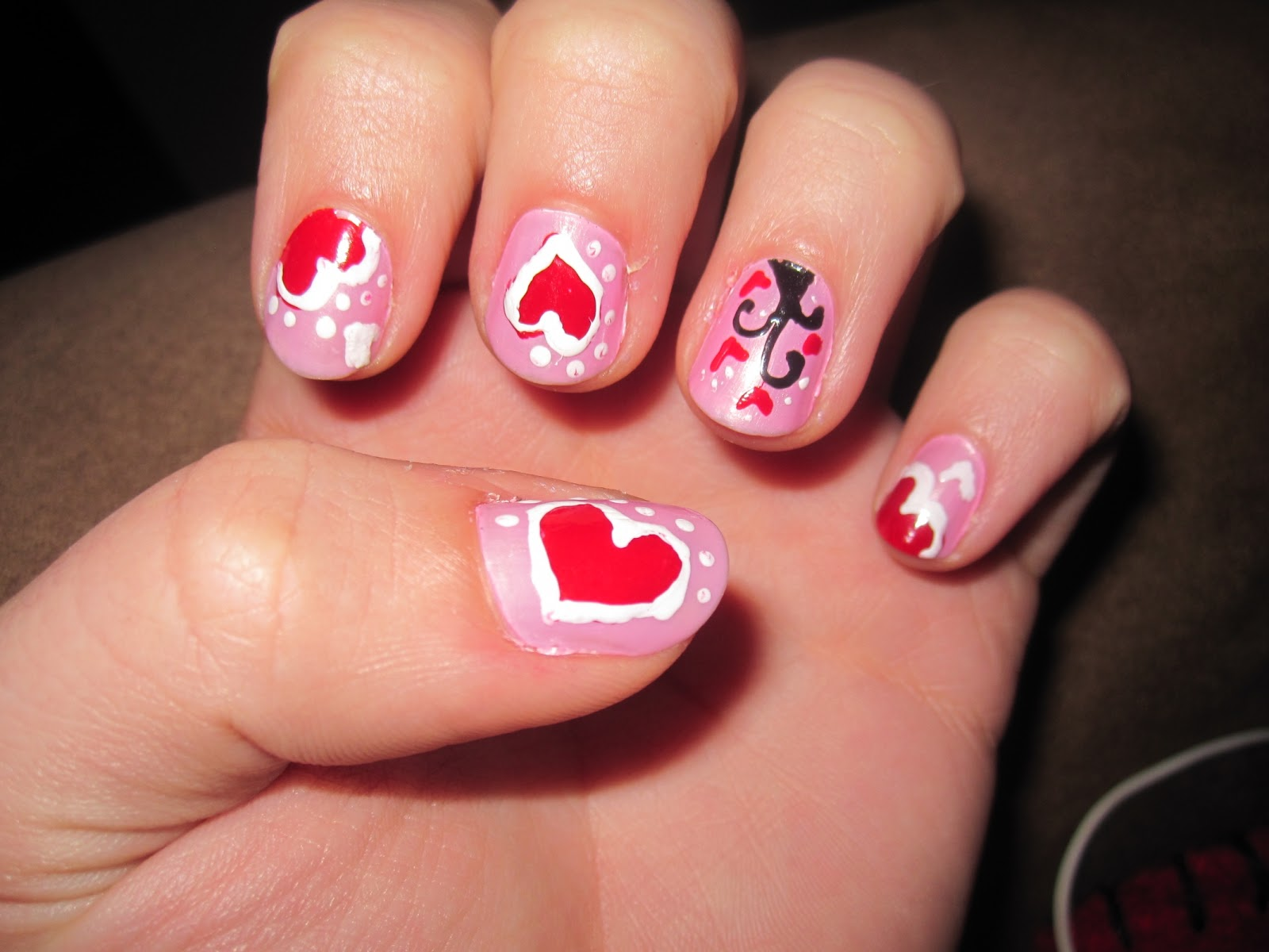 Valentines Day Nail Designs Ideas How To Decorate Nails Quotes