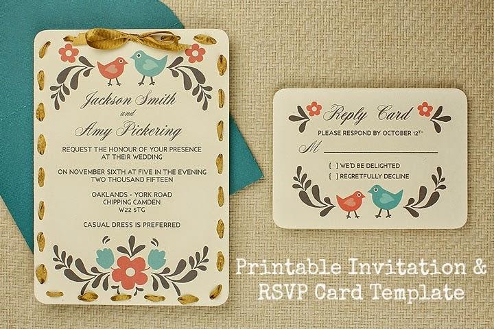 Bouncing around in everyday life free wedding invitation templates really nice design stopboris Gallery