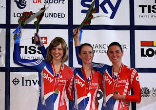 London 2012 Paralympic Games : Joanna Rowsell : Sarah Storey, My Heroine