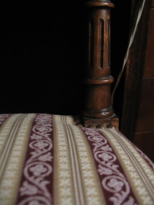 Zoom sur le motif de l'assise
