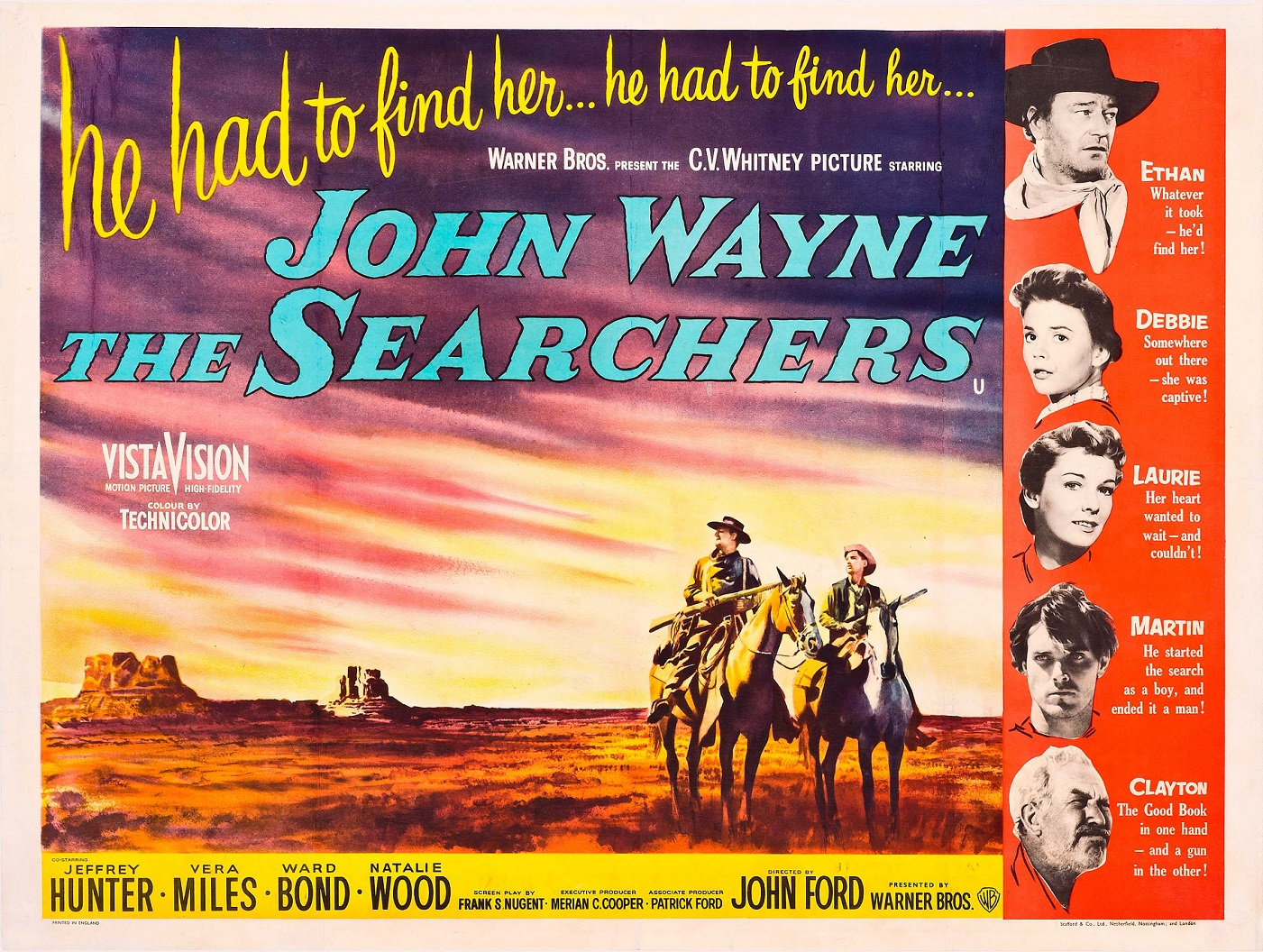 THE SEARCHERS (1956) WEB SITE