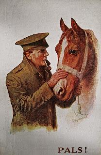 Солдат и лошадь