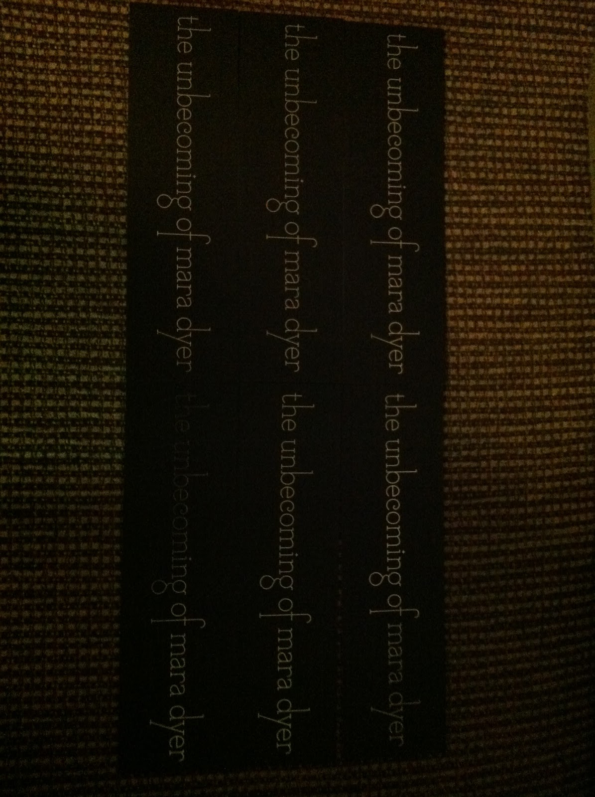 Mara Dyer Stat! Psment To Win! One Of These Bookmarks Will Go  Great With Your Evolution Book!