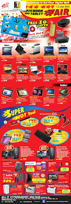 allIT Hypermarket Notebook and Tablet Fair