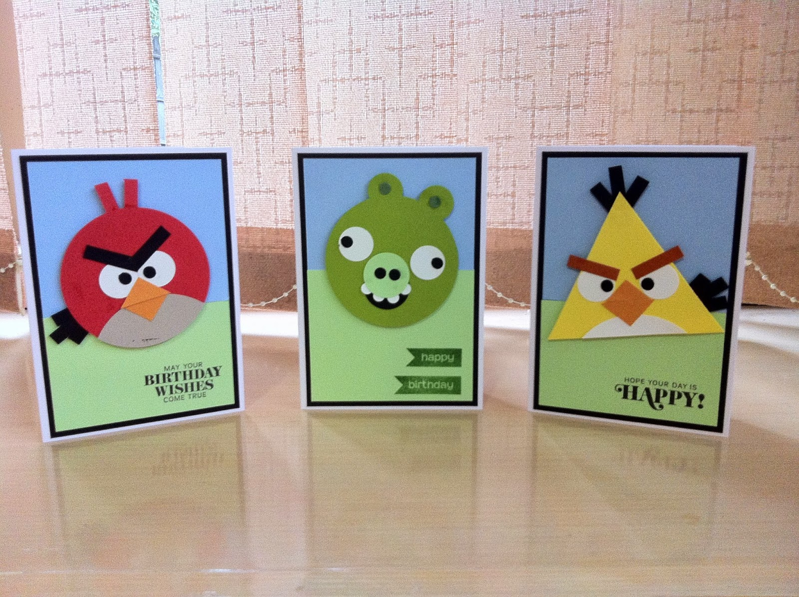 "Photo of ""Angry Birds"" Birthday Cards"
