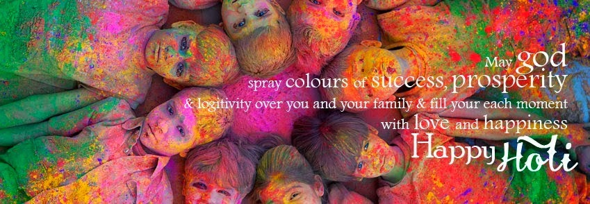 Happy holi facebook cover people wallpaper