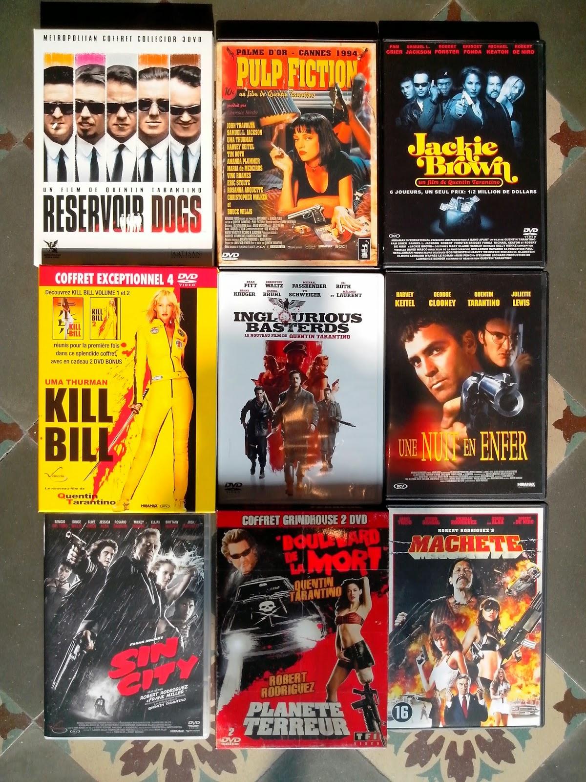 Divers DVD a vendre QTRR