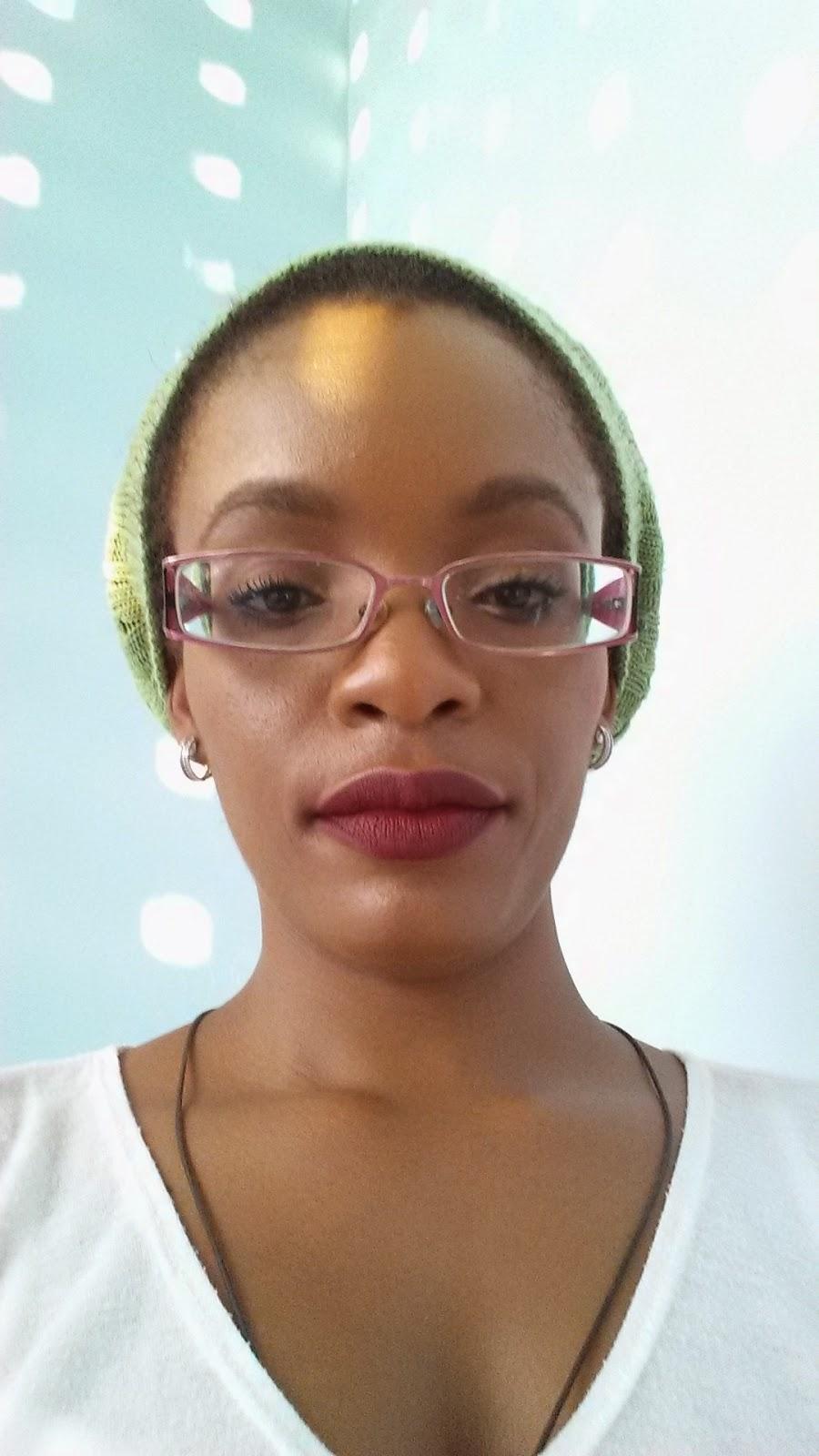 Pretty Zombie Cosmetics 'Dahlia' lip swatch www.modenmakeup.com