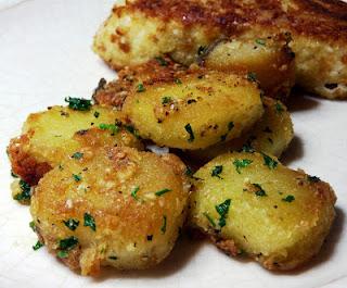 Parmesan Garlic Roasted Potatoes
