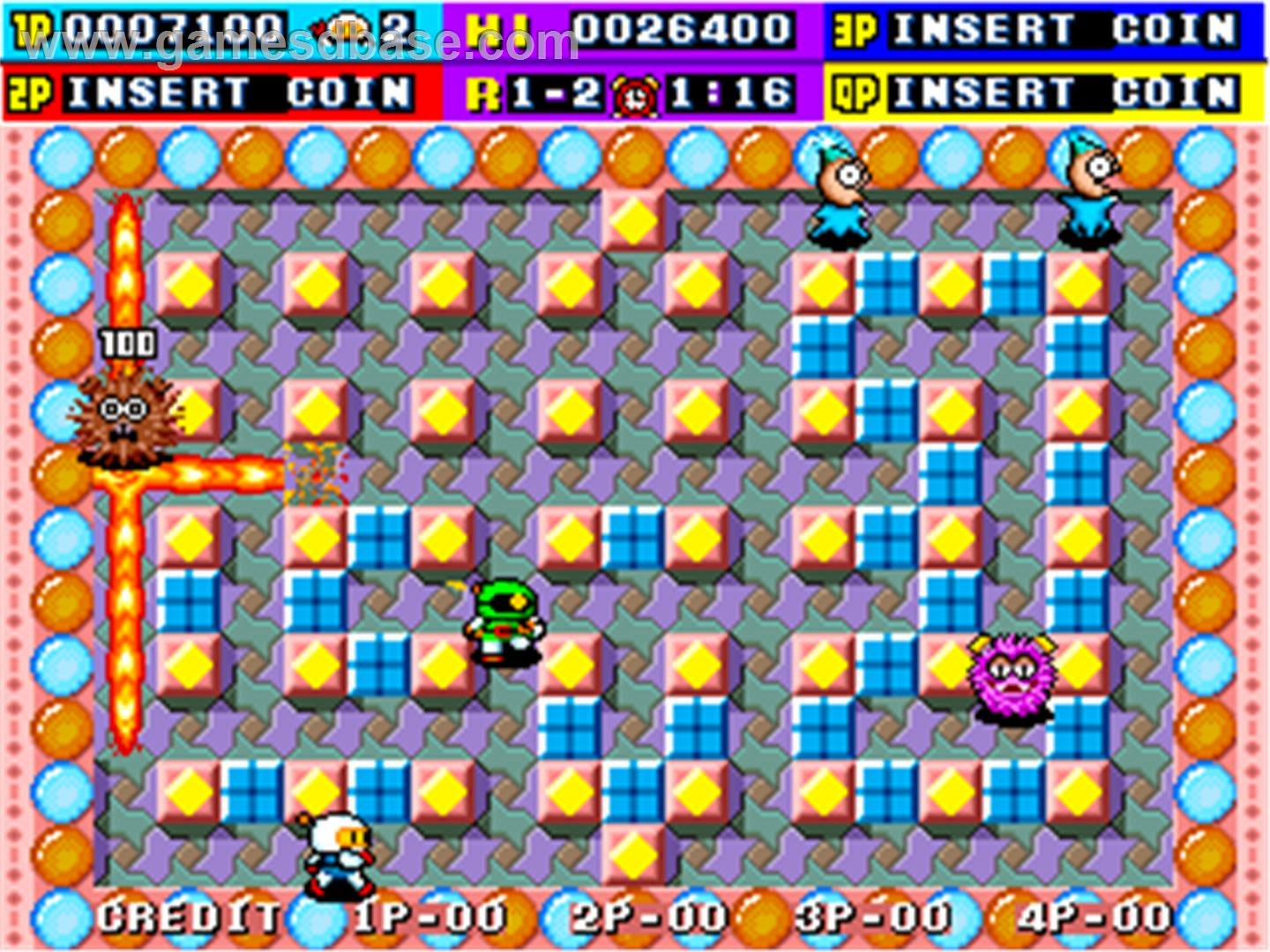 Dyna Blaster arcade game portable download free