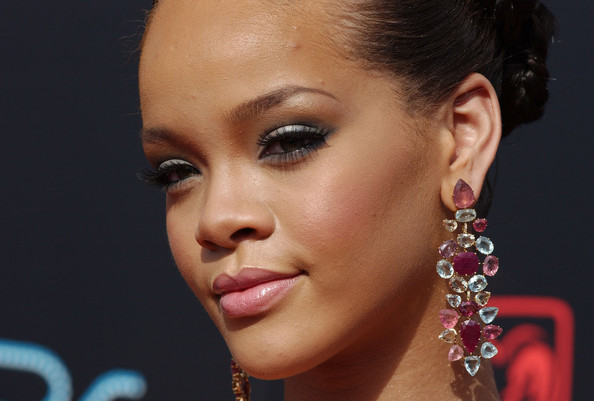rihanna hair wallpaper dress earrings download girl
