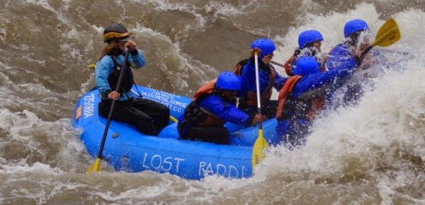 Rafting the Royal Gorge.Jorrey Cook,Lost Paddle Rafting