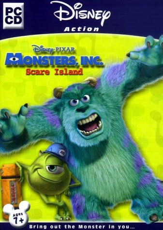 Monsters Inc Scare Island