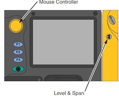 IR- Fusion Blend level set up buttons