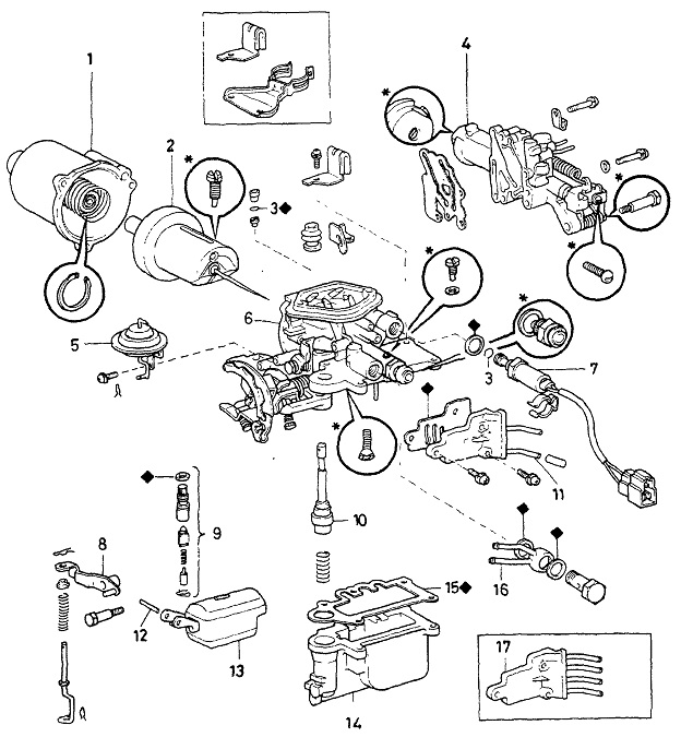 Aisan Variable Venturi Carburetor: Daihatsu Sportrak Engine Diagram At Teydeco.co