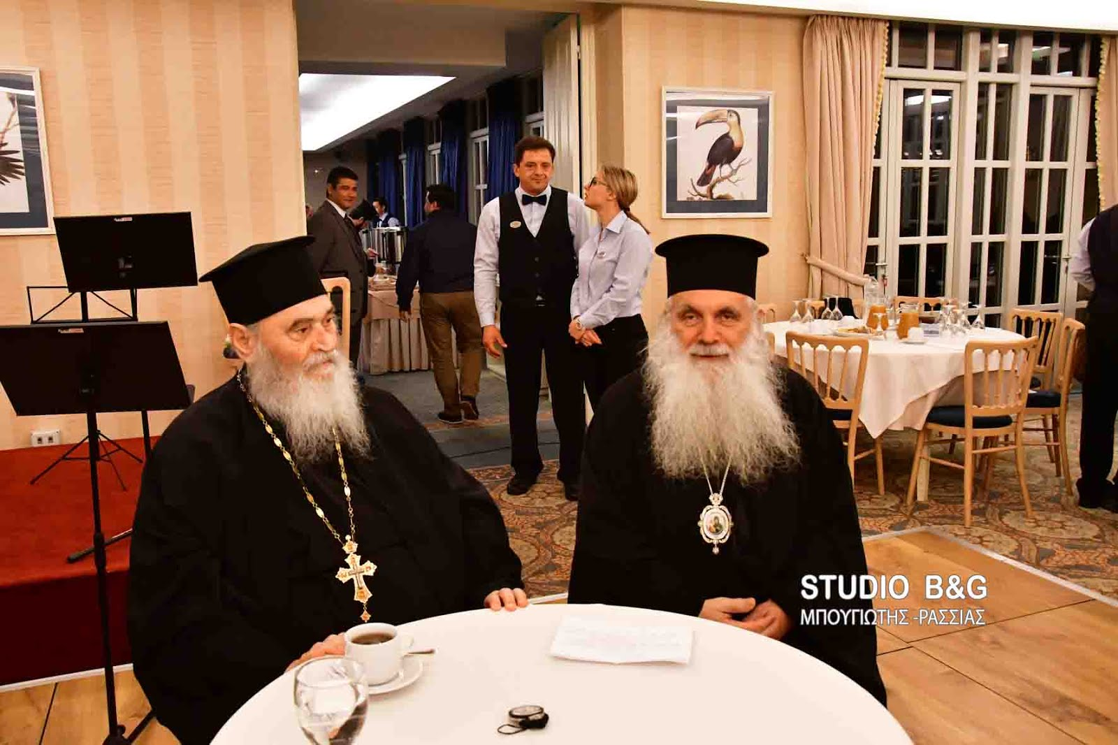 Στην κοπή της πίτας του συσσιτίου της Ευαγγελίστριας ο π. Γερβάσιος Ραπτόπουλος