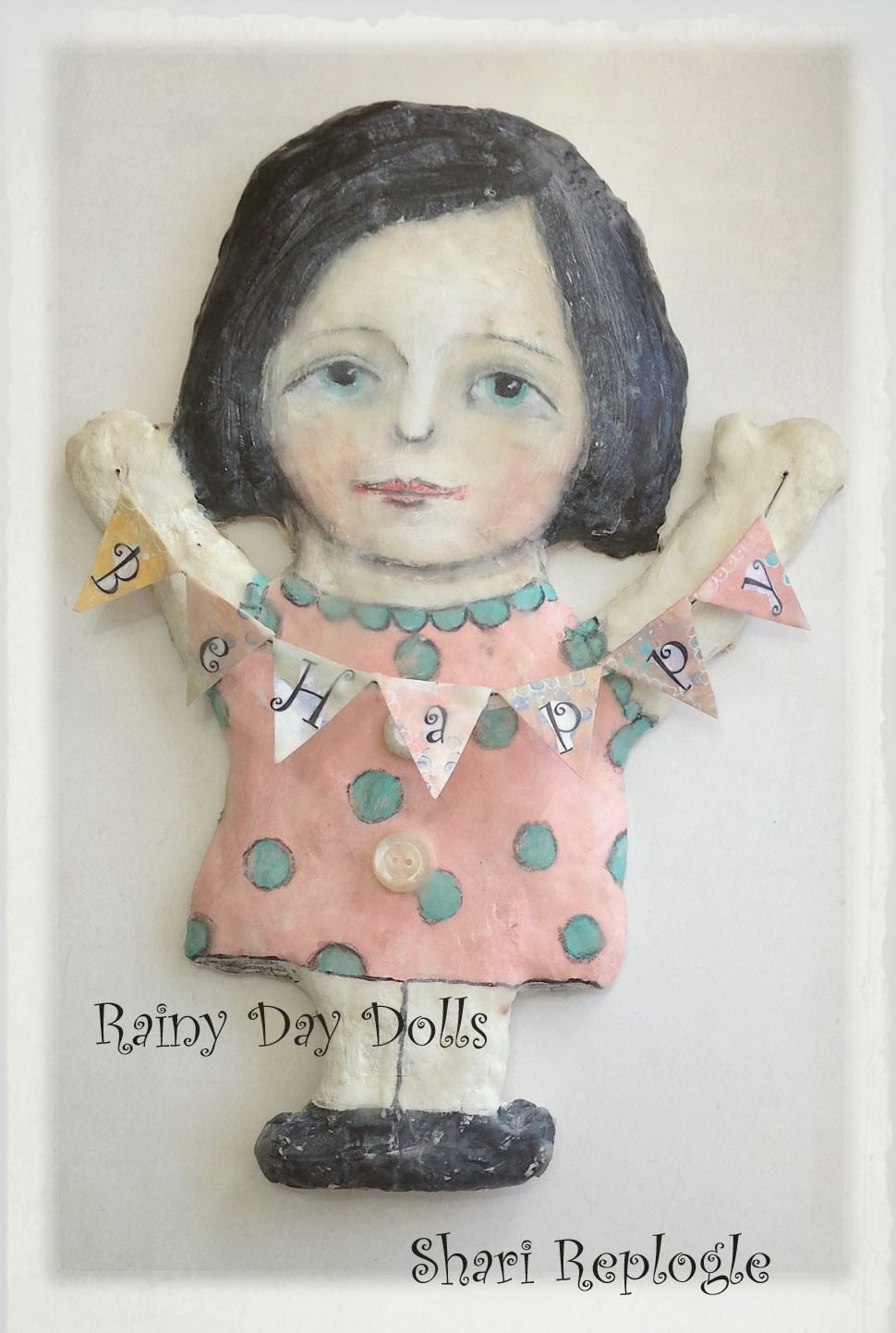 Rainy Day Doll Turtorial Instant Download