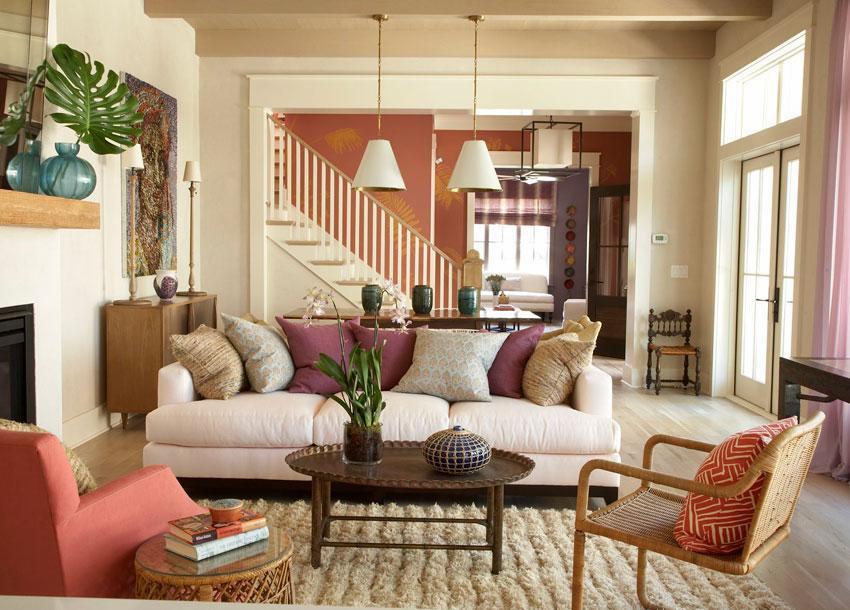 M nica castillo consejos para hacer tu casa m s acogedora - Colores relajantes para salones ...