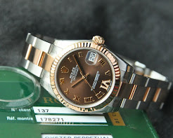 New in Box Rolex MidSize Choco Diamond VI