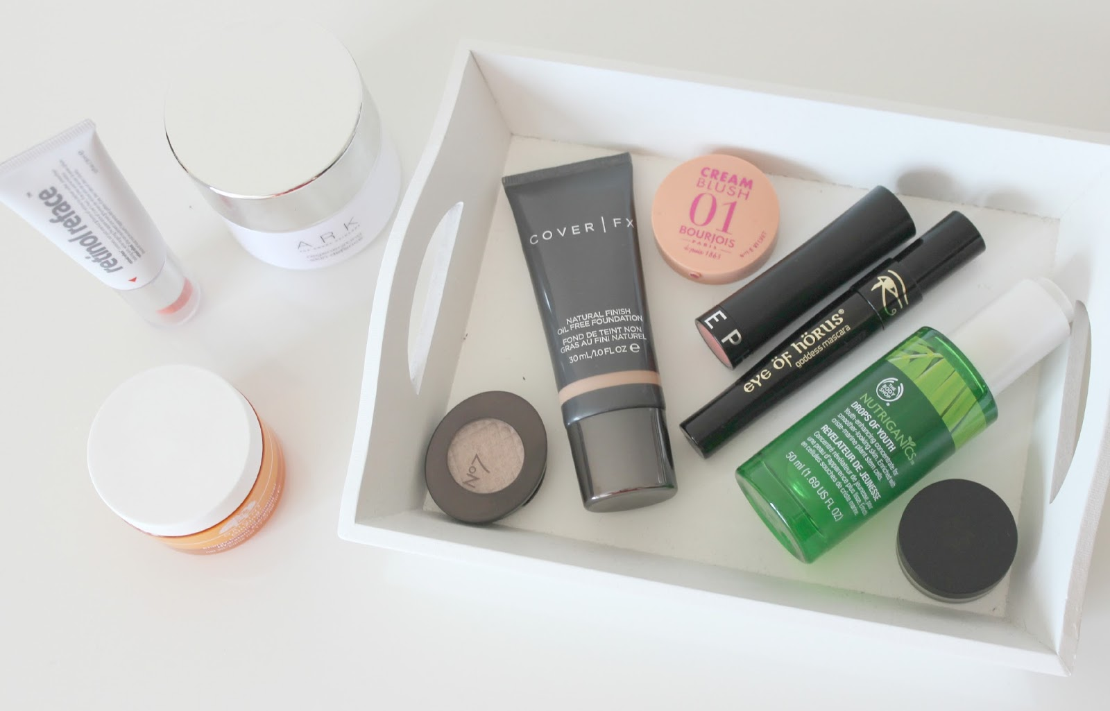 A picture of the products which stood out for me in July.