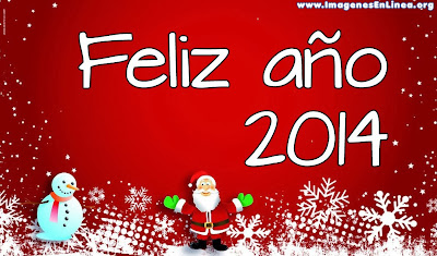 Feliz 2014, tarjetas para dedicar