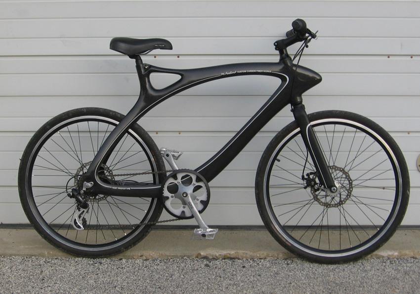Homemade Carbon Fiber Bike