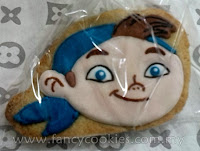 disney's jake and the neverland pirates fancy cookies chubby