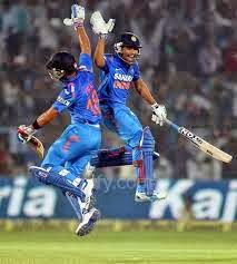 Rohit, Kohli & Dhawan lead India in record chase against Oz in ODIs