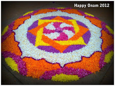 Happy Onam 2012 photo athapookalam design