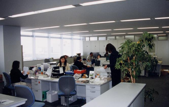 kurumiyama's blog: オフィスのありよう
