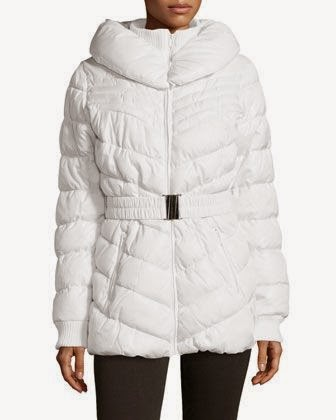 Random Deals: Winter Prep- Love Token Chevron-Quilted Puffer Coat