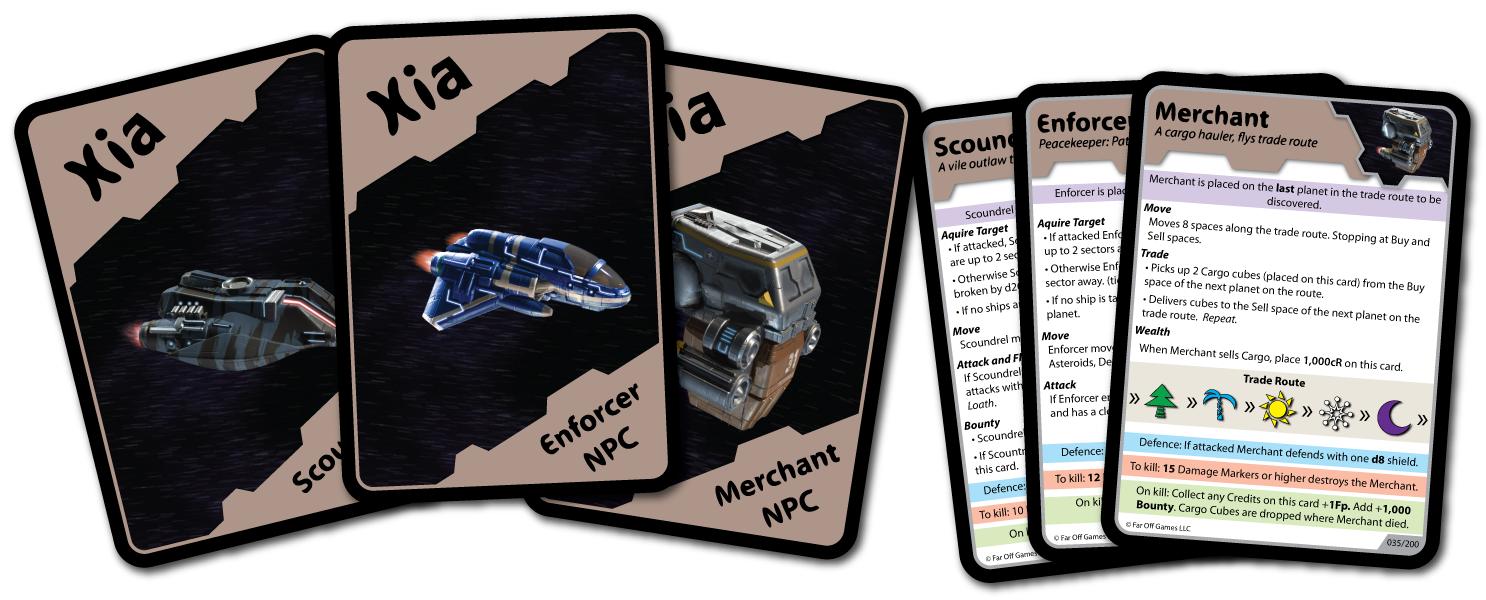 Xia legends of the drift system - naves no jugadoras