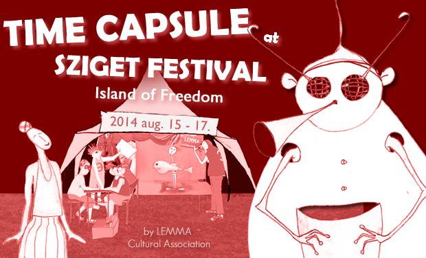 Time Capsule - Sziget Fesztivál 2014 / plakát_lemma_2014
