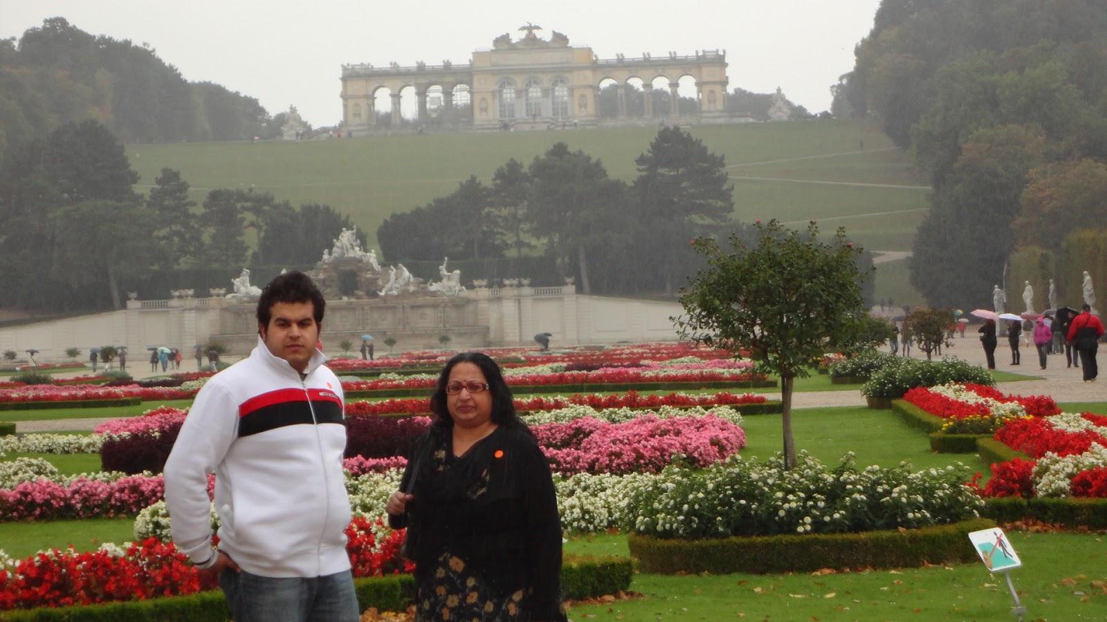 Schnonbrun Palace Gardens,Vienna Austria