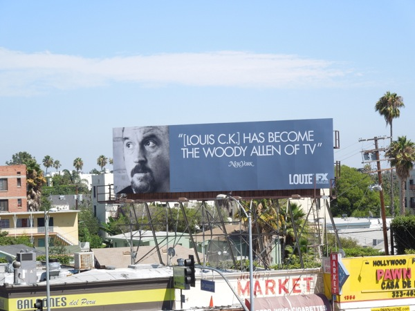 Louie CK Emmy billboard