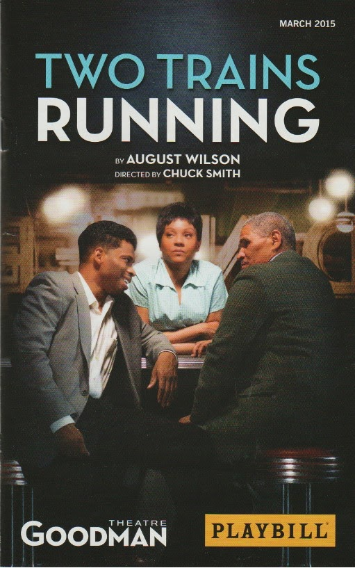 an analysis of two trains running by august wilson