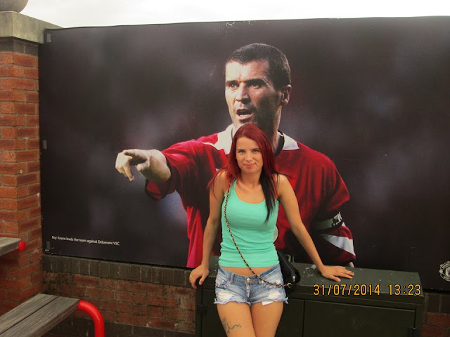 Anna Binkowska From Poland with Roy Keane picture