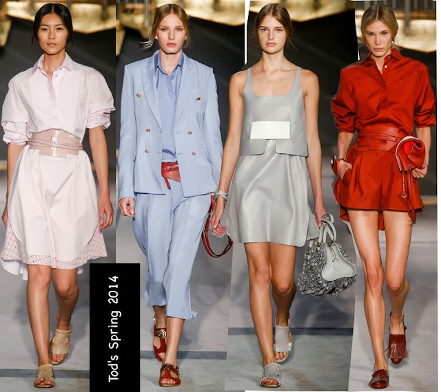 tods spring 2014 shirtdresses