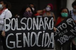 Manifestaciones contra el genocida
