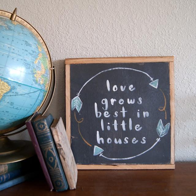 Averie Lane Boutique - love grows best in little houses - reclaimed wood, vintage books, mason jar