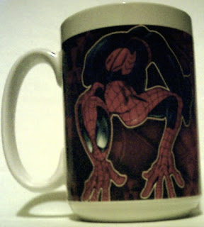 Left side of Spider-Man 2004 mug #2
