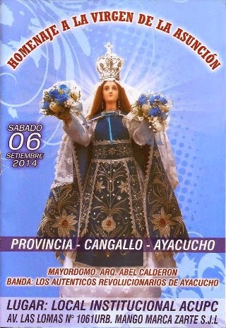 virgen asuncion de cangallo