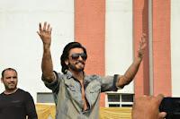 Ranveer Sing Promoting Ram-Leela at SVN college, Lucknow