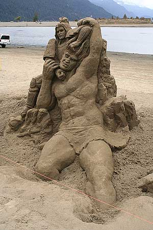 Amazing Sand Castles Creations Awesome Contest What You Think Does Matter