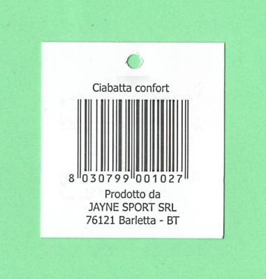 Ciabatta Jayne Sport