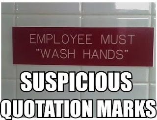 employee must wash hands funny sign